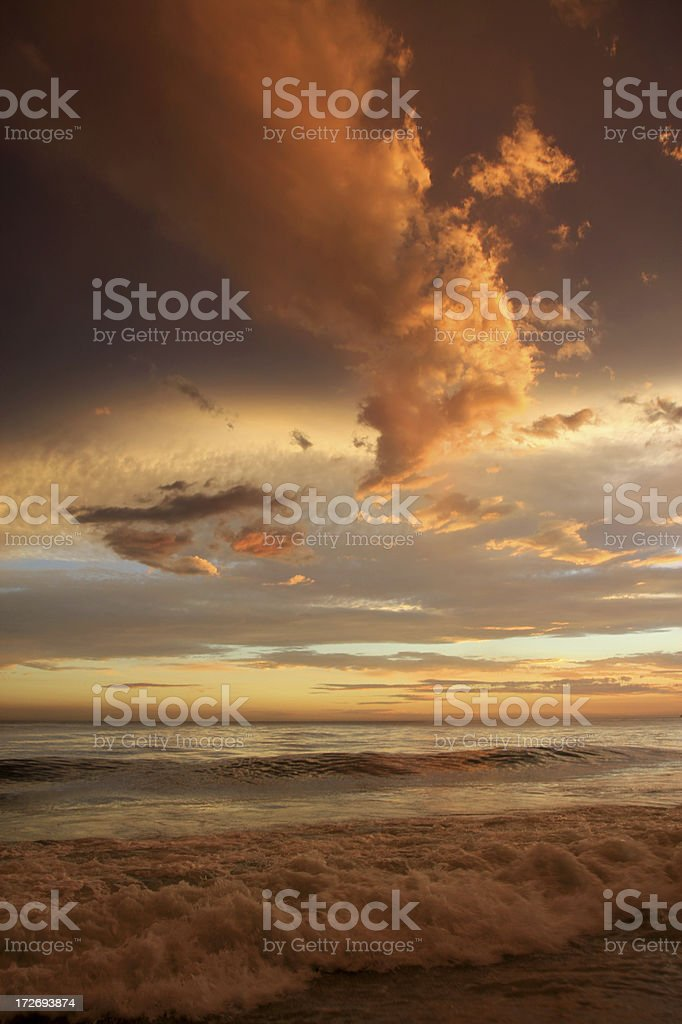 Heavenly Sky After Storm royalty-free stock photo