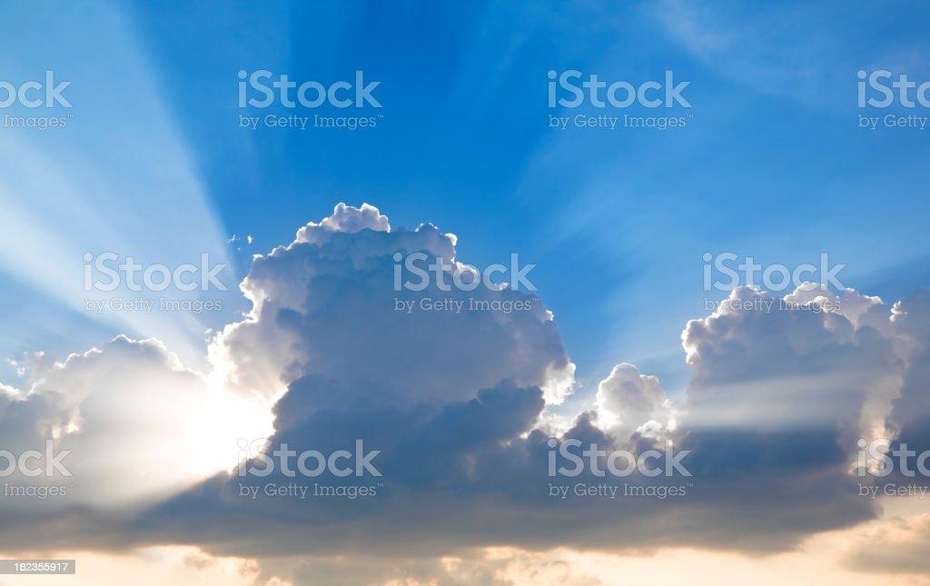 Heavenly Sky royalty-free stock photo