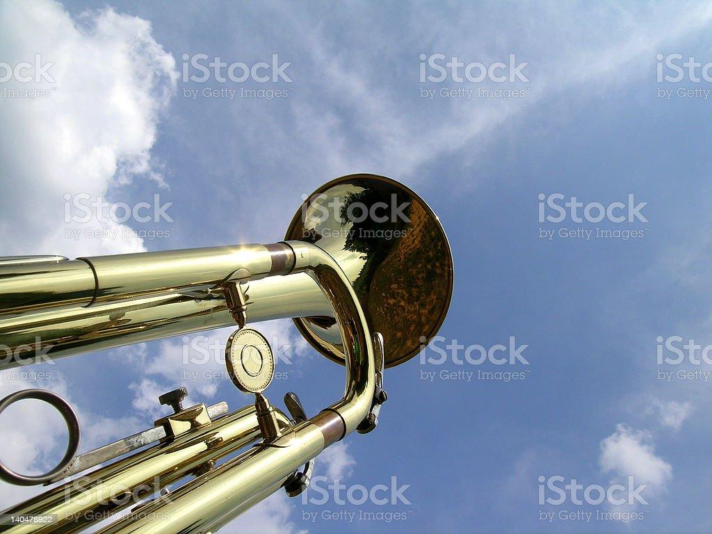 Heavenly Trumpet royalty-free stock photo
