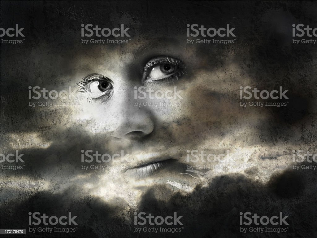 Heaven's Eyes royalty-free stock photo