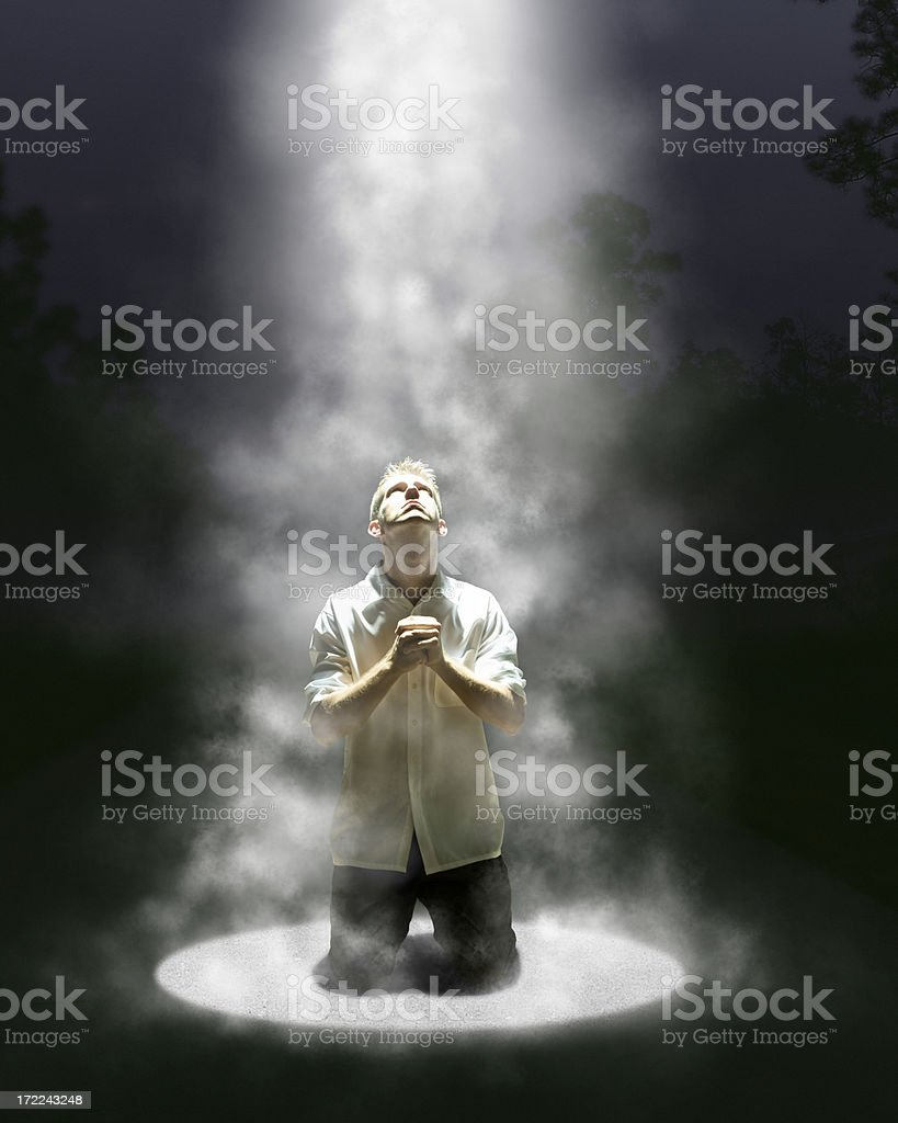 heaven's light royalty-free stock photo