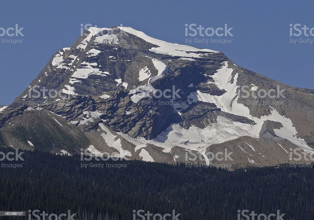 Heaven's Peak stock photo