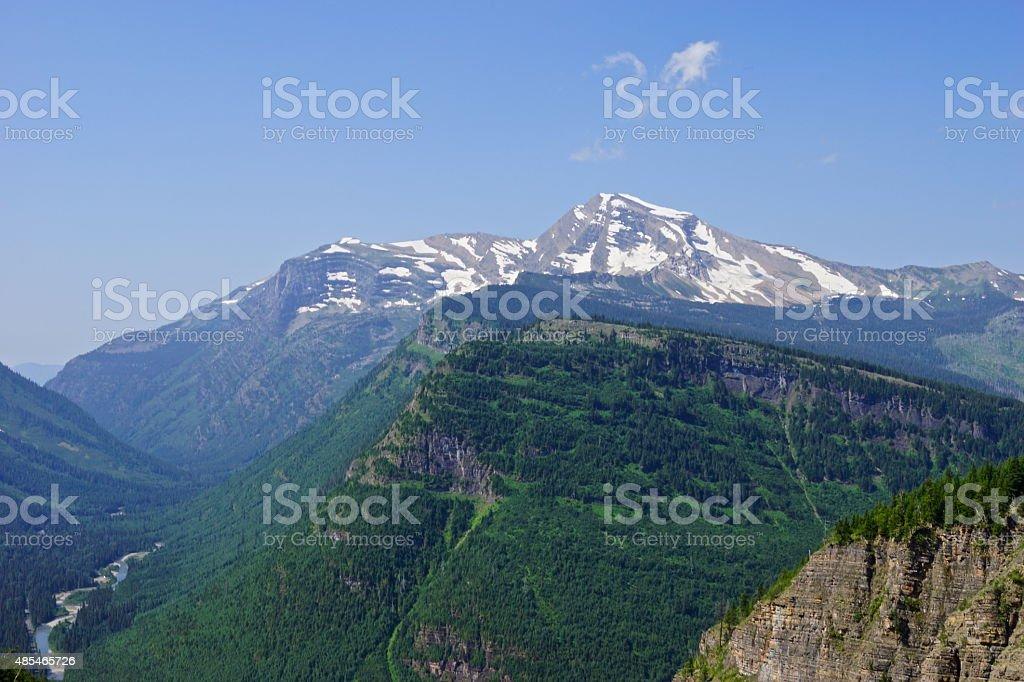 Heaven's Peak Rising High stock photo
