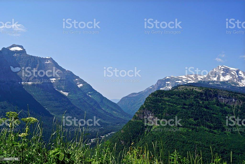 Heaven's Peak/Mt. Cannon stock photo