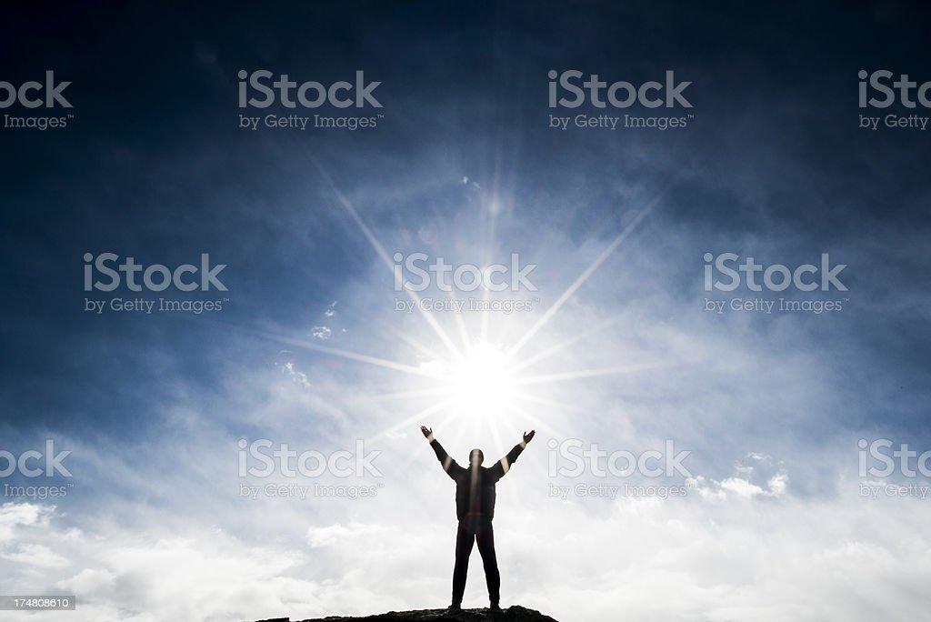heavens stock photo