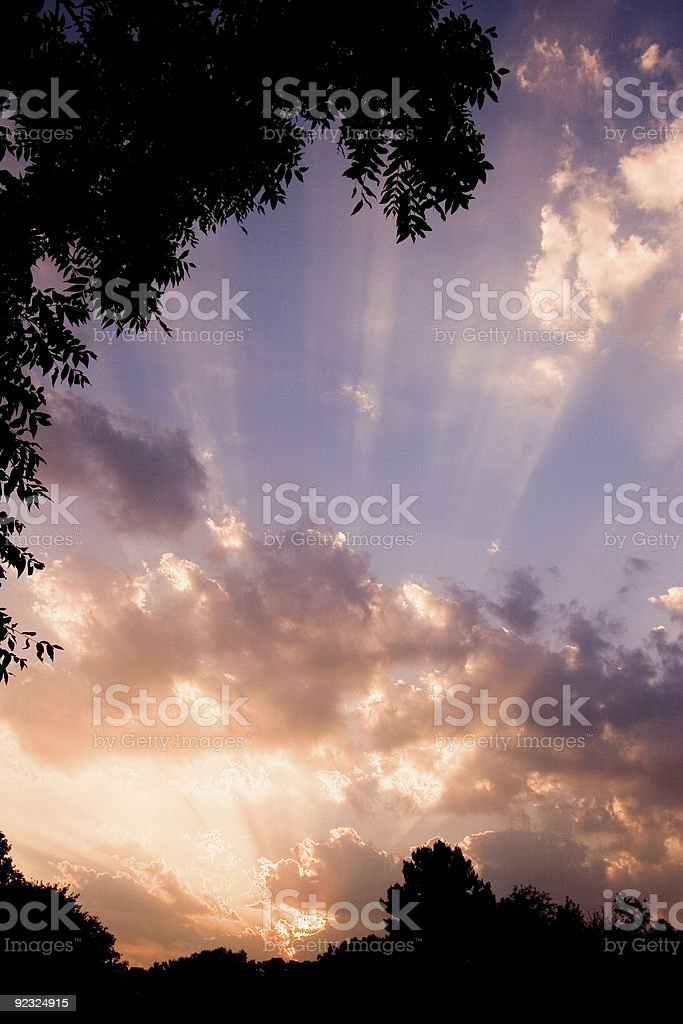 Heavens royalty-free stock photo