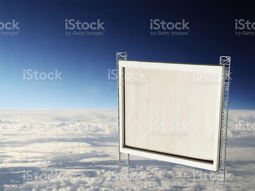 Heaven's Sign royalty-free stock photo