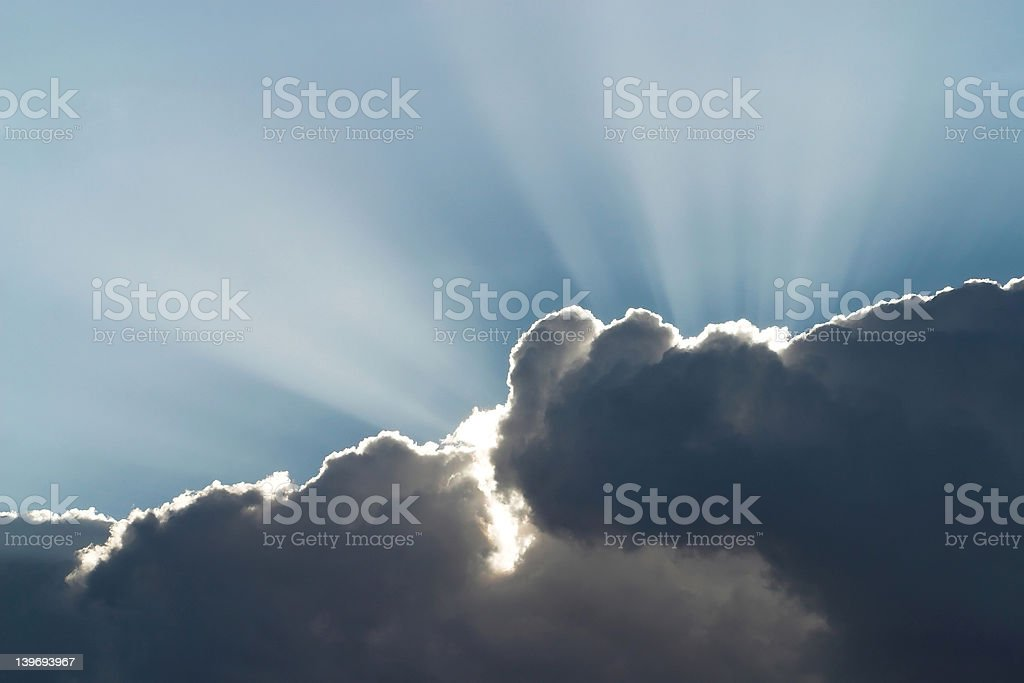 Heaven's Sunshine stock photo