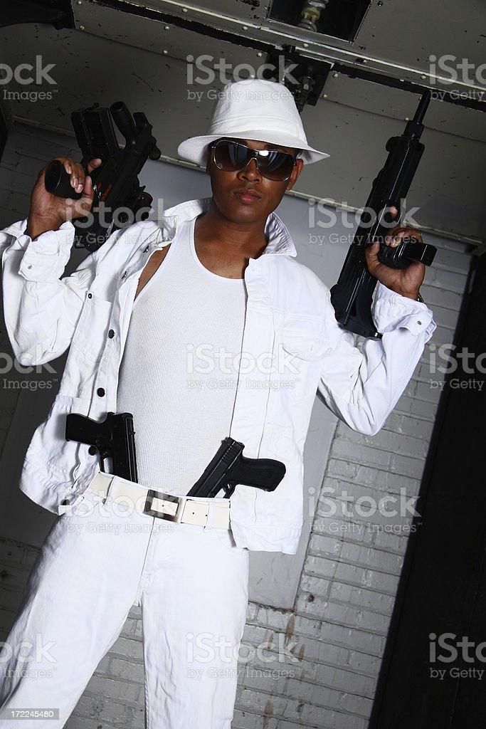 Heavily Armed stock photo