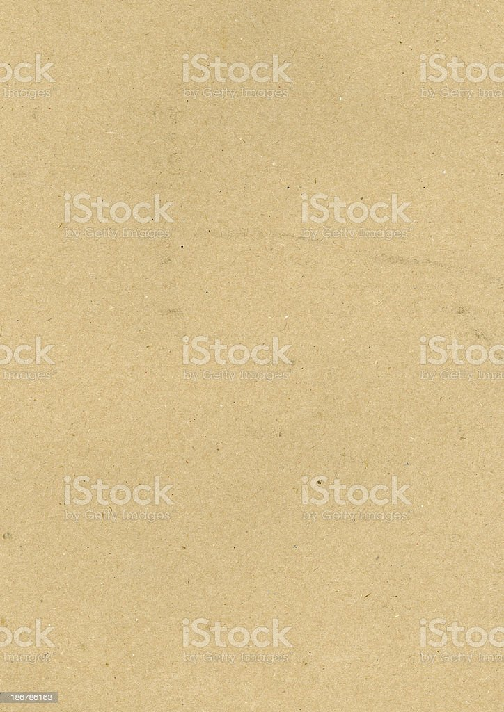 Heavy brown paper texture royalty-free stock photo