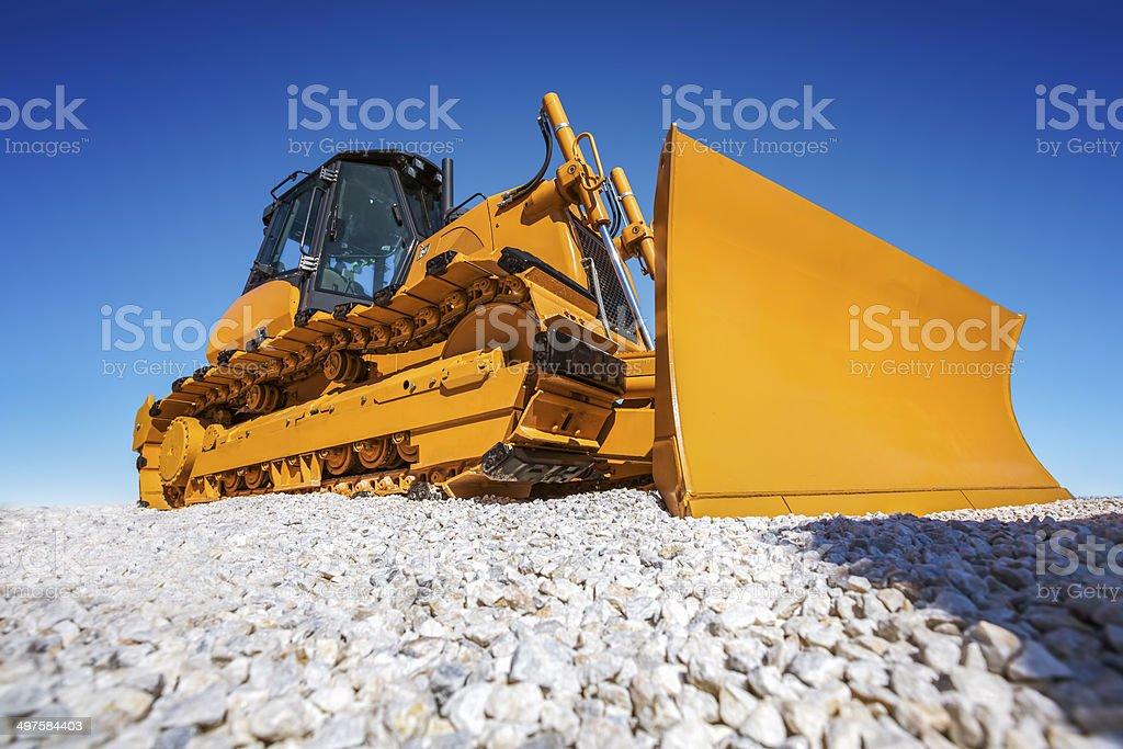 Heavy Bulldozer stock photo