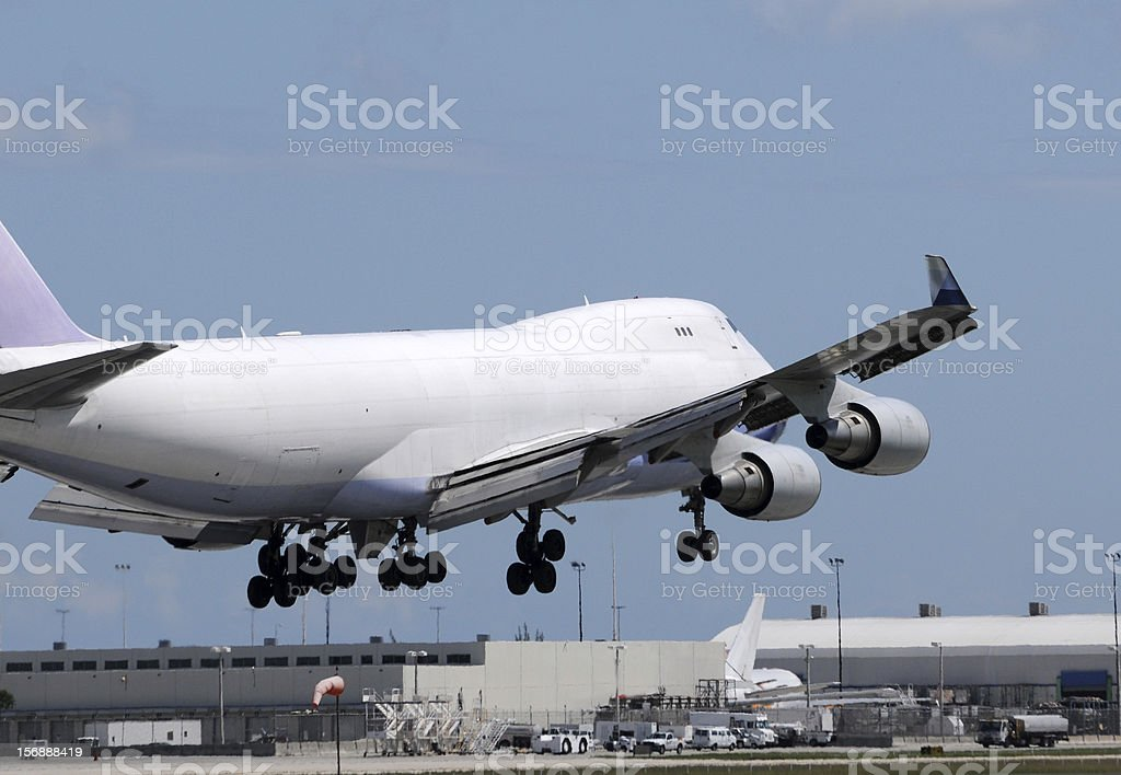 Heavy cargo jet royalty-free stock photo