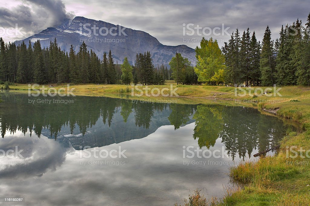 Heavy clouds. royalty-free stock photo