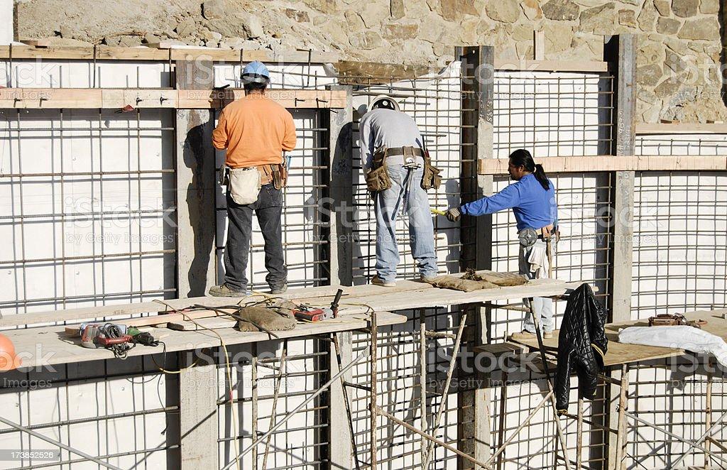 Heavy Construction royalty-free stock photo