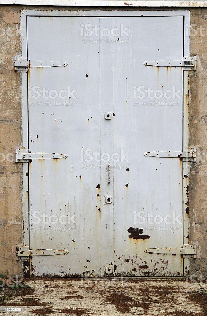 Heavy Door stock photo