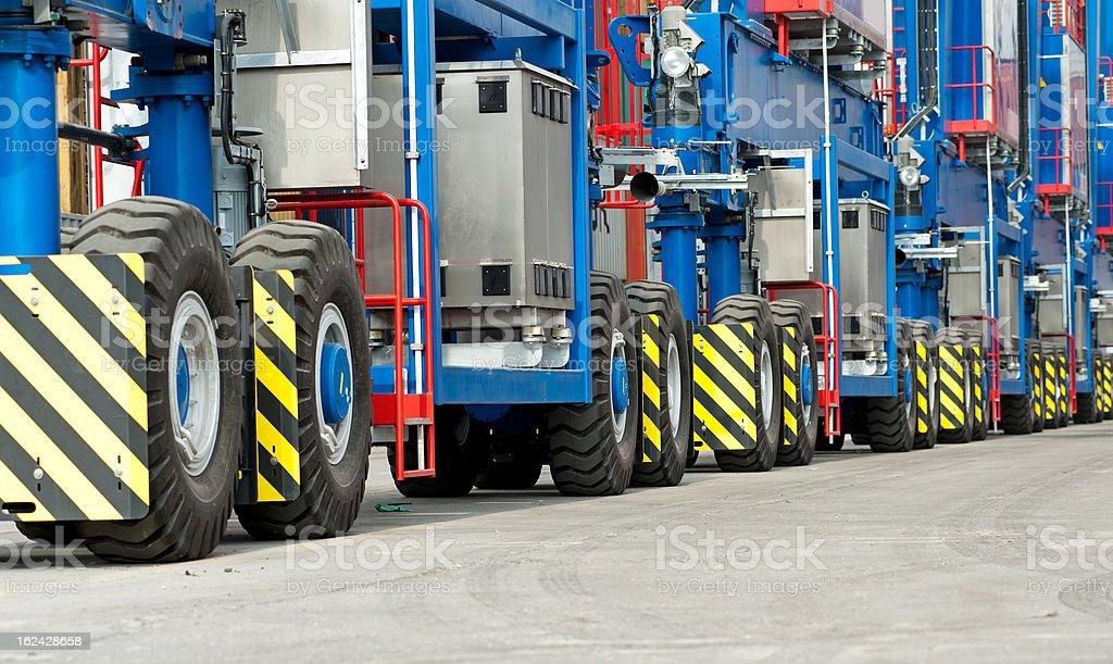 heavy duty tire royalty-free stock photo