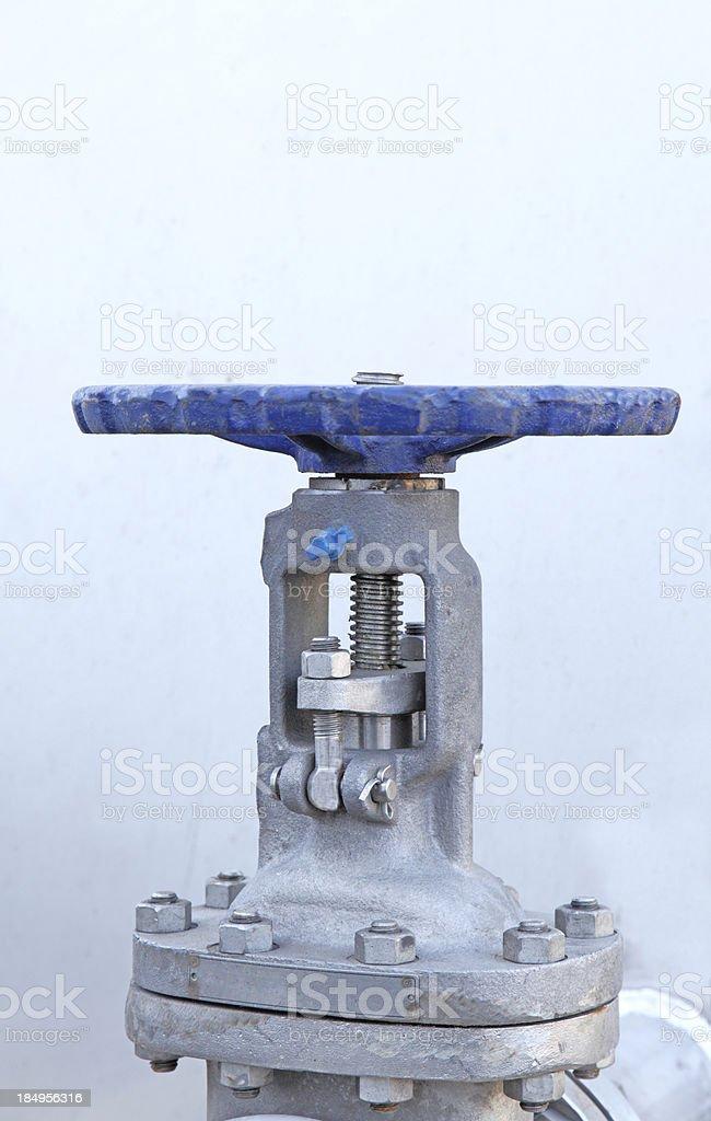 heavy duty valve. royalty-free stock photo