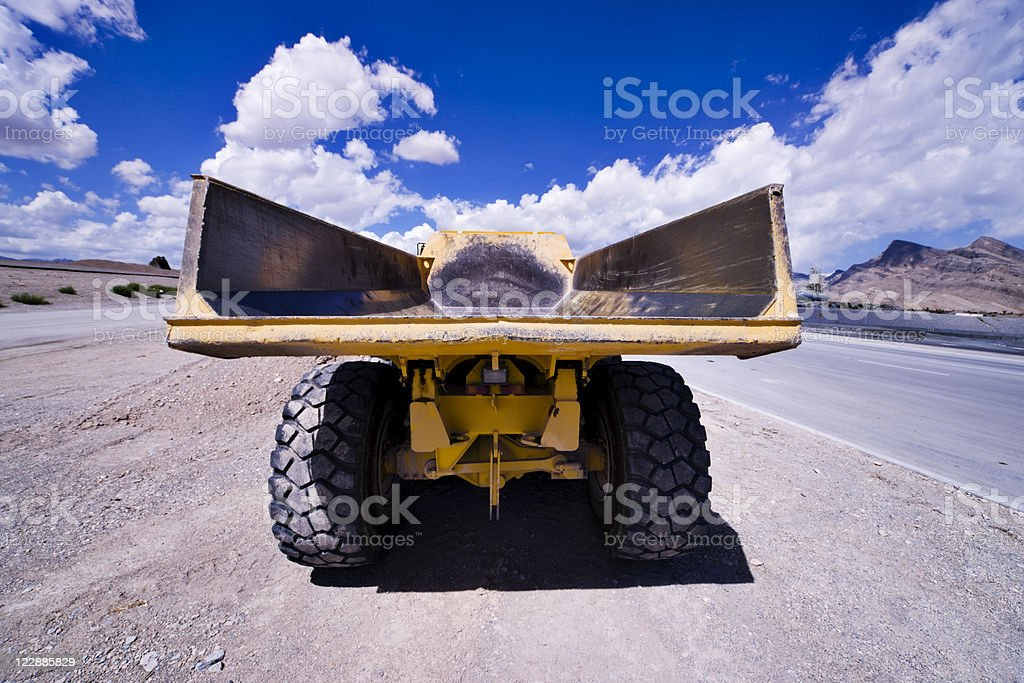 Heavy Equipment Dump Truck royalty-free stock photo