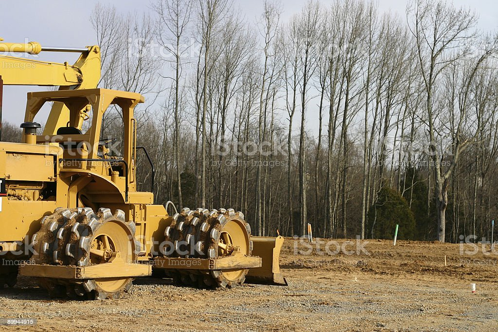 Heavy Equipment stock photo
