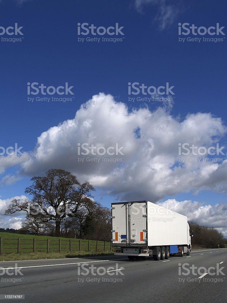 Heavy Goods Vehicle royalty-free stock photo