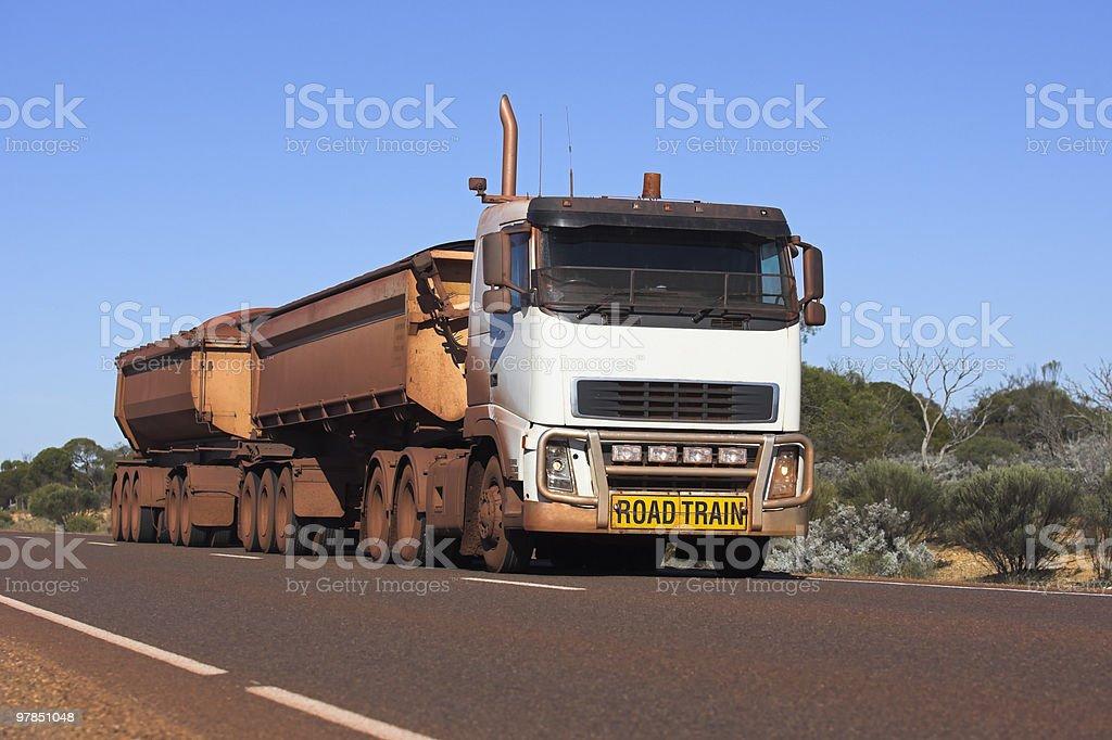 Heavy Haulage Truck stock photo