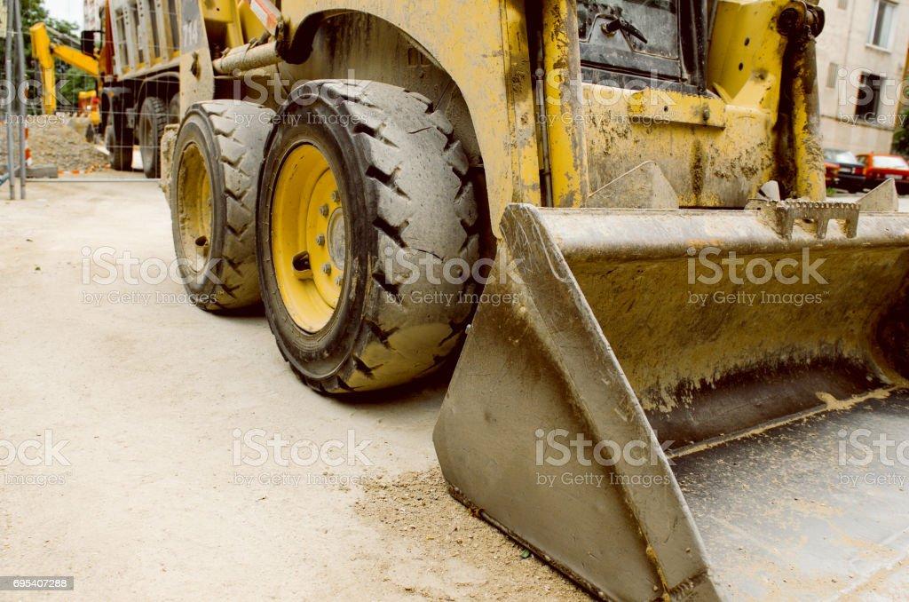 Heavy Industrial Machine stock photo
