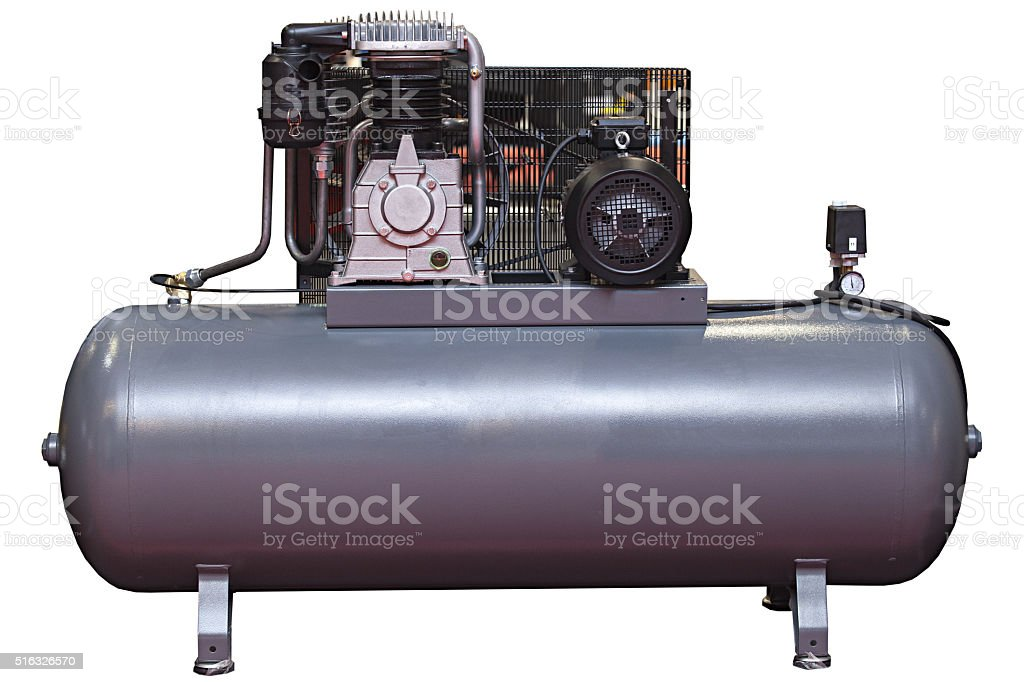 Heavy industry Compressor stock photo