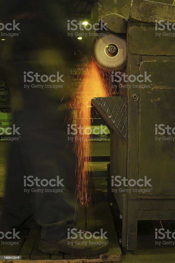 Heavy industry detail royalty-free stock photo