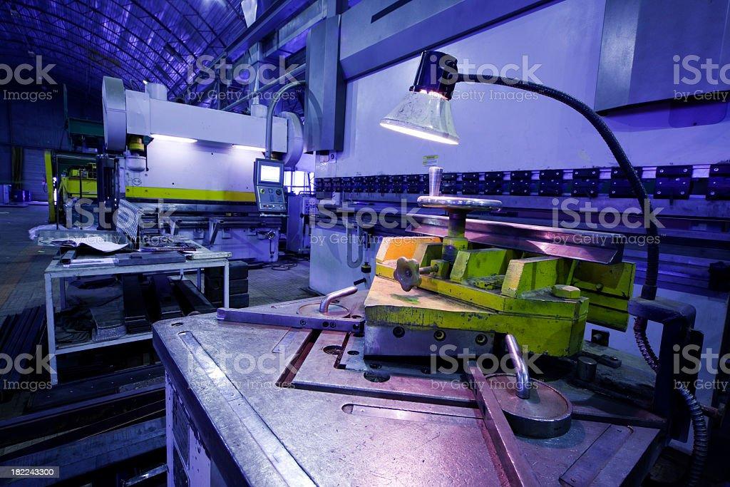 Heavy industry - factory stock photo