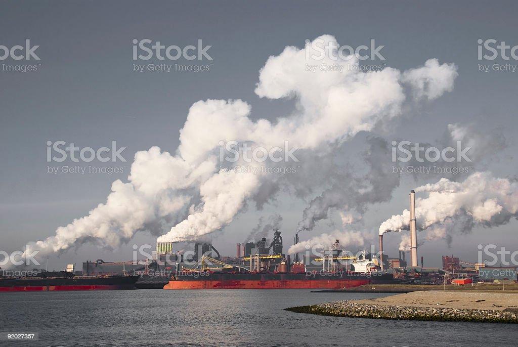 Heavy Industry III stock photo