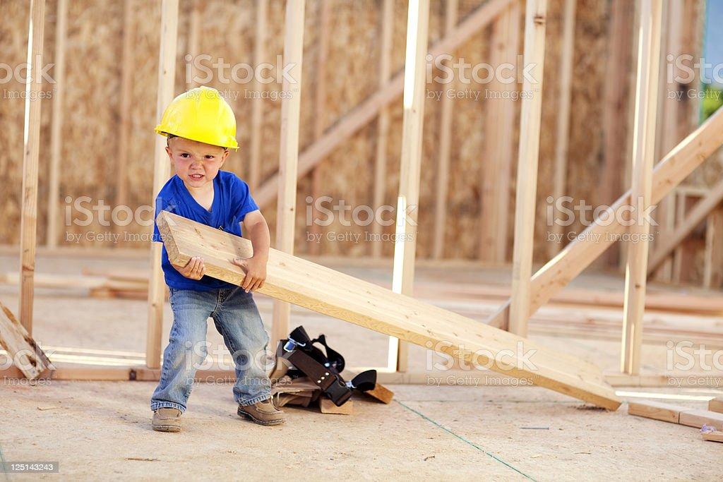 Heavy Labor stock photo