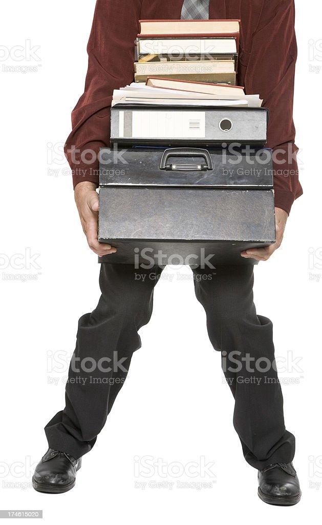 Heavy Load royalty-free stock photo