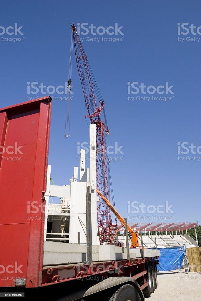 Heavy Loading stock photo