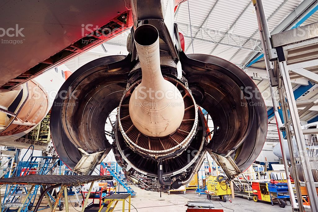 Heavy maintenance stock photo