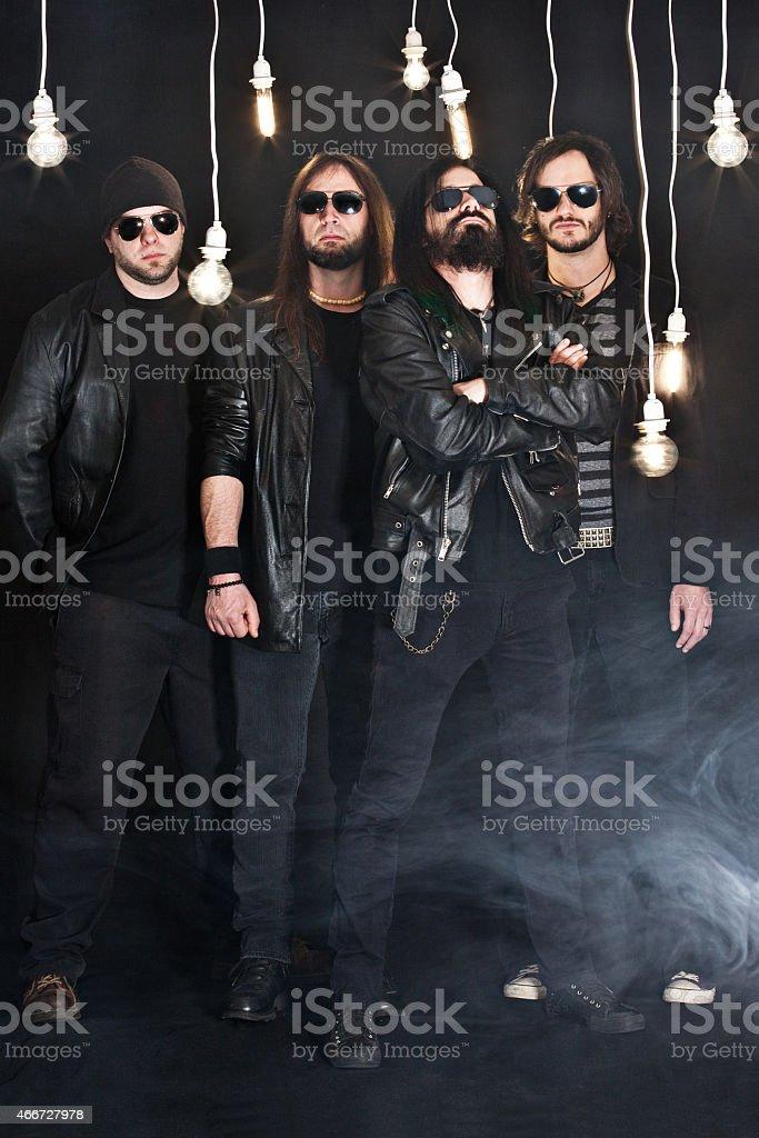Heavy Metal Band stock photo