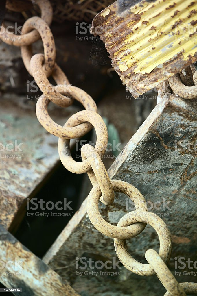 Heavy Metal [chain two] royalty-free stock photo
