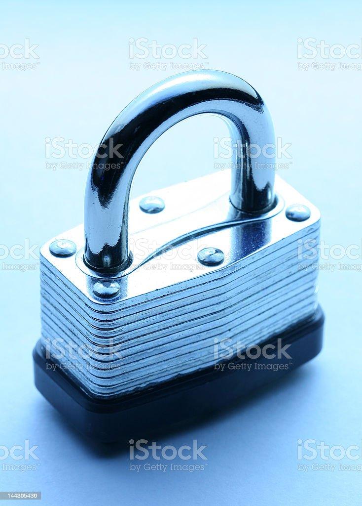 Heavy metal lock royalty-free stock photo