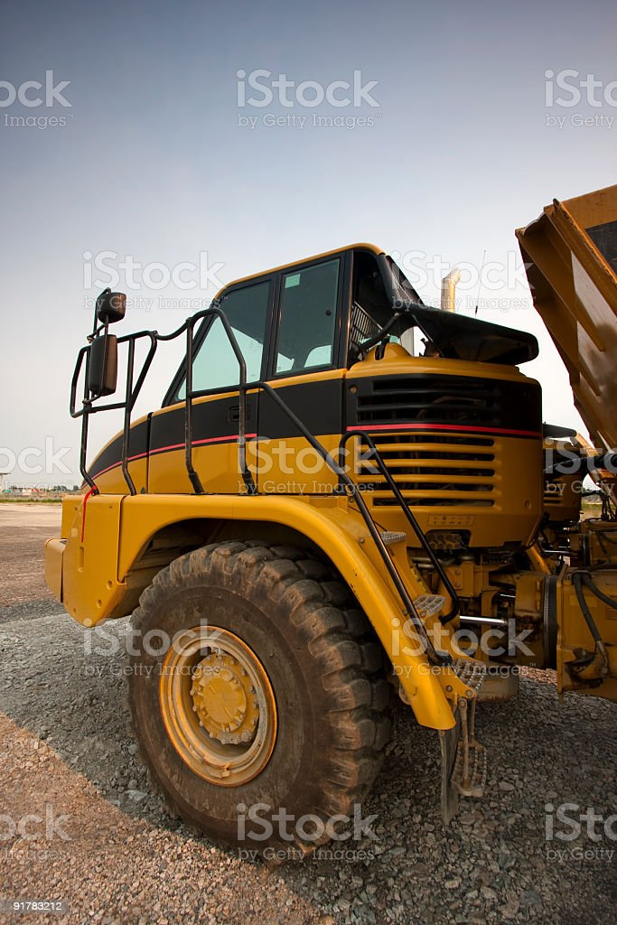 Heavy Mover stock photo