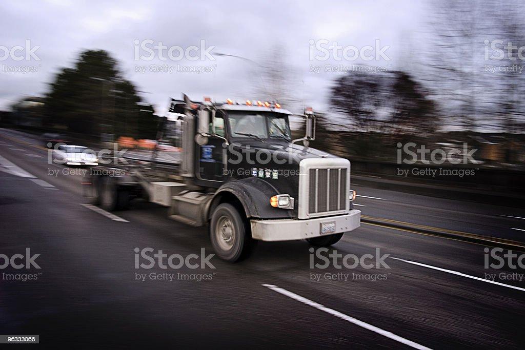 Heavy Racer stock photo