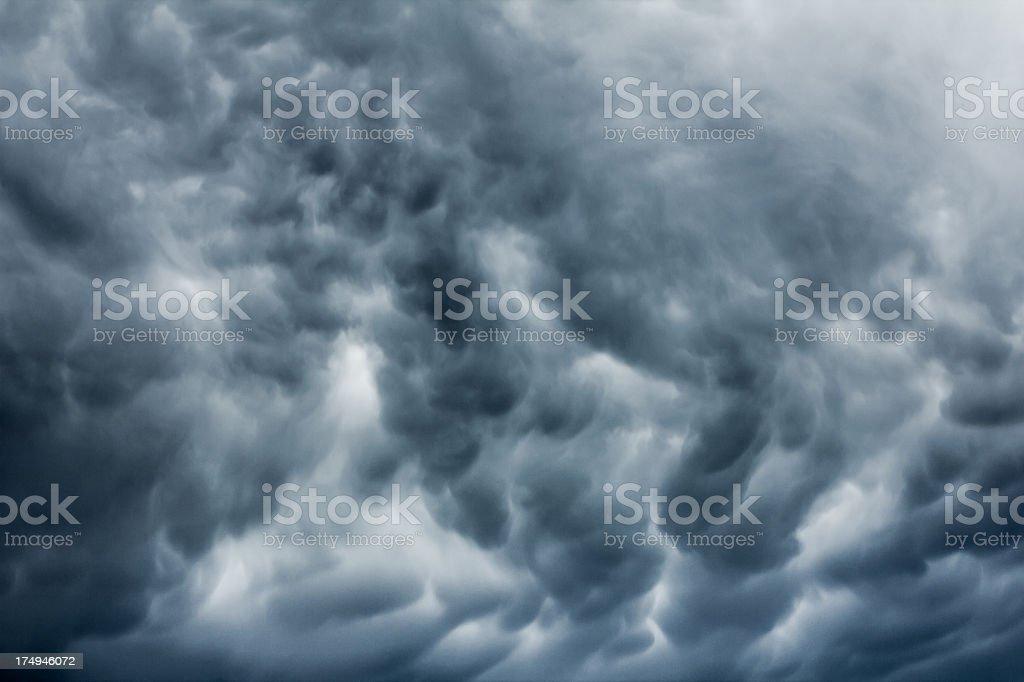 Heavy Storm Cloud royalty-free stock photo