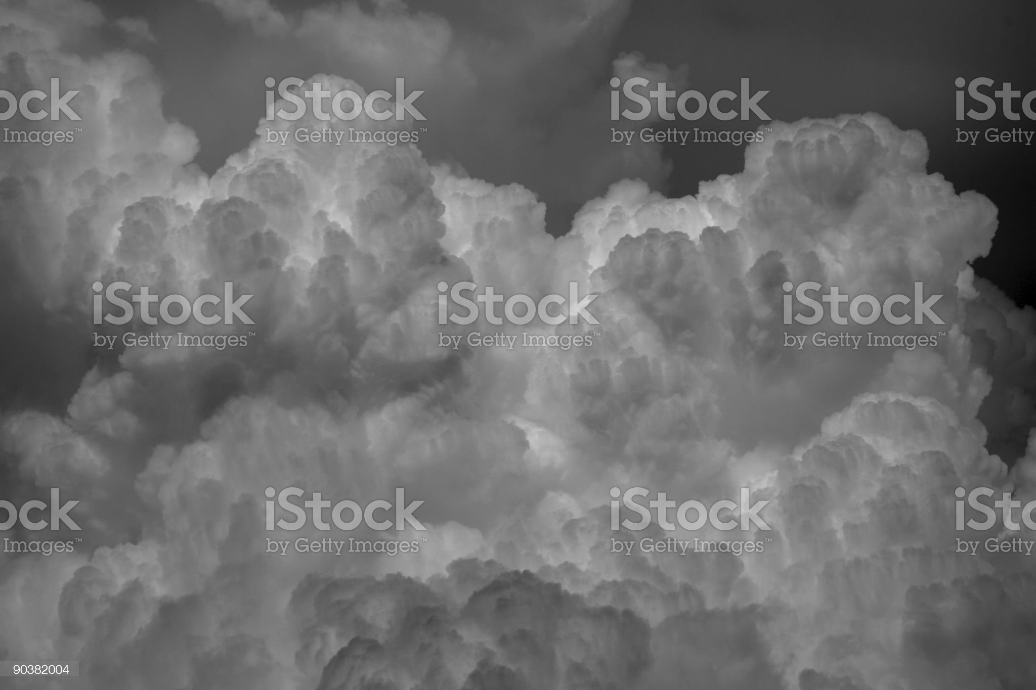 Heavy Storm Clouds royalty-free stock photo