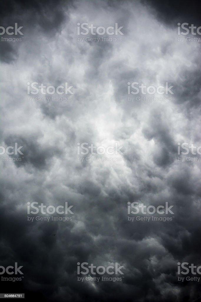 Heavy Thunderstorm stock photo