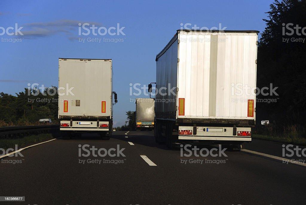 Heavy Traffic royalty-free stock photo