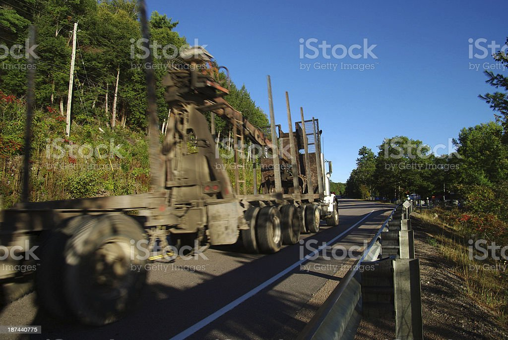Heavy transport royalty-free stock photo