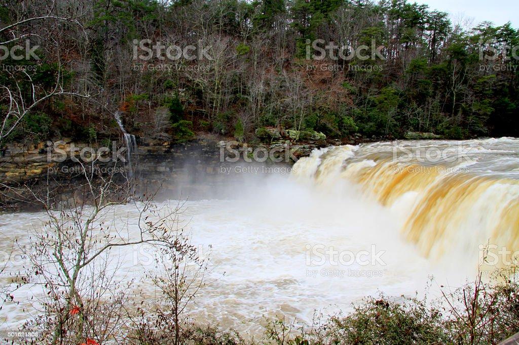 Heavy water stock photo