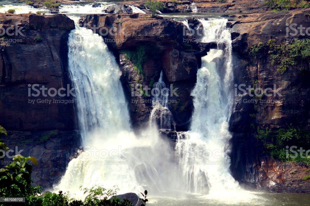 Heavy Waterfall stock photo