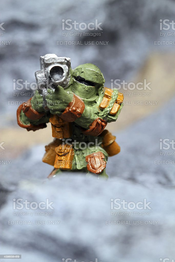 Heavy Weapons Soldier. stock photo