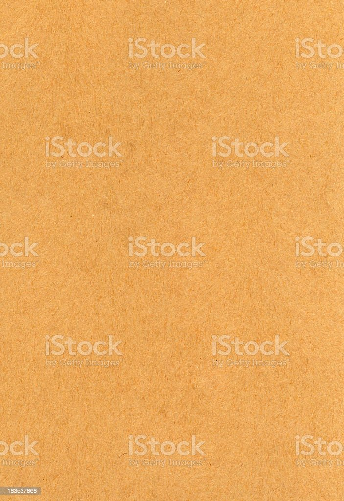 Heavy weight brown paper texture royalty-free stock photo