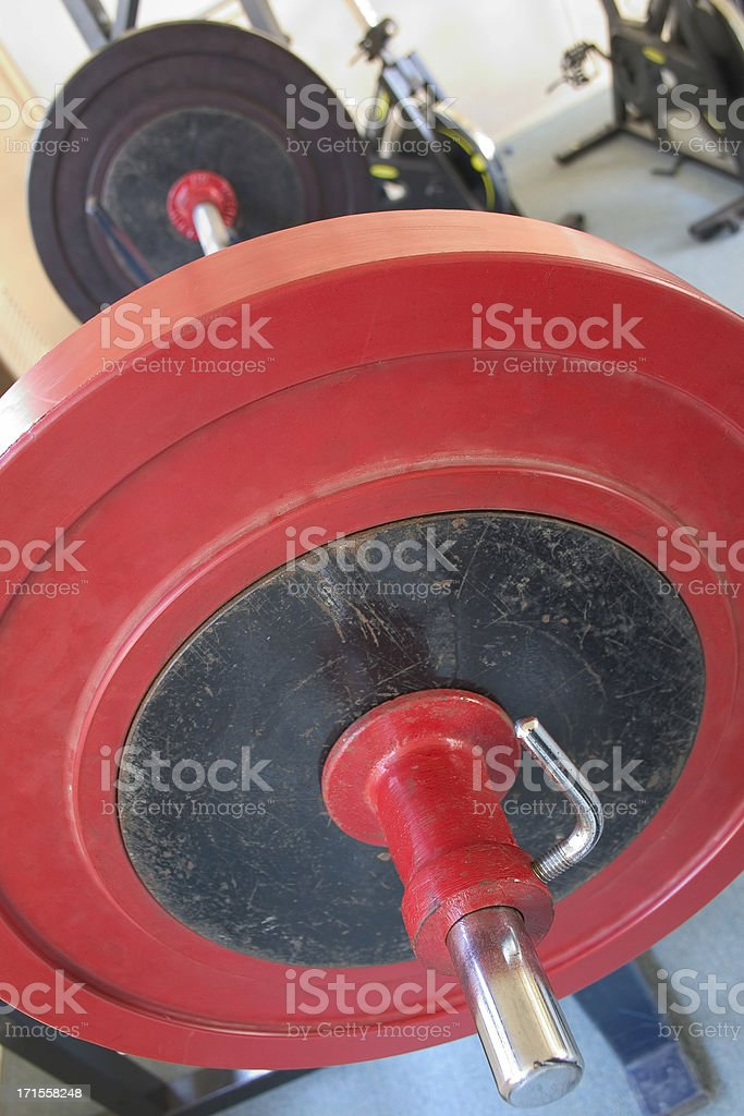 Heavy Weights 04 royalty-free stock photo