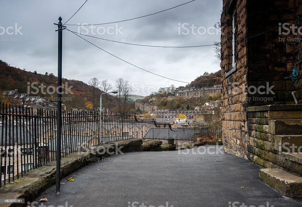 hebden bridge, Yorkshire royalty-free stock photo
